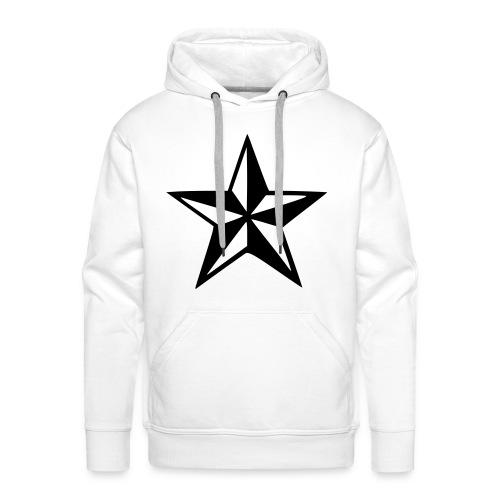 Sweat étoile 3D - Sweat-shirt à capuche Premium pour hommes