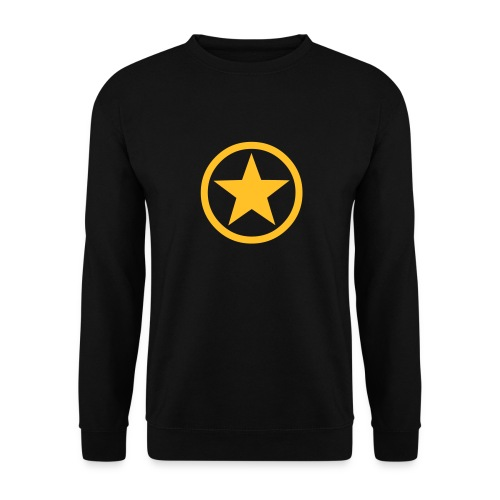 Yellow Star - Men's Sweatshirt