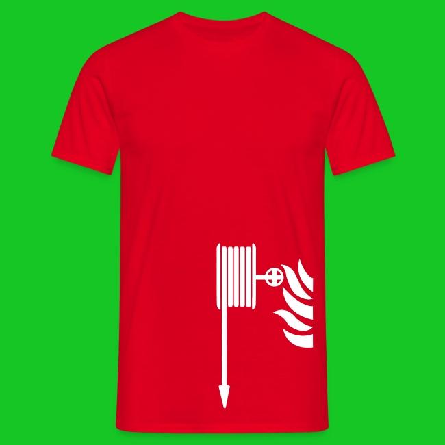 Brandweerslang heren t-shirt
