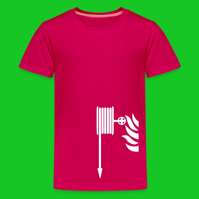 Brandweerslang teenager t-shirt