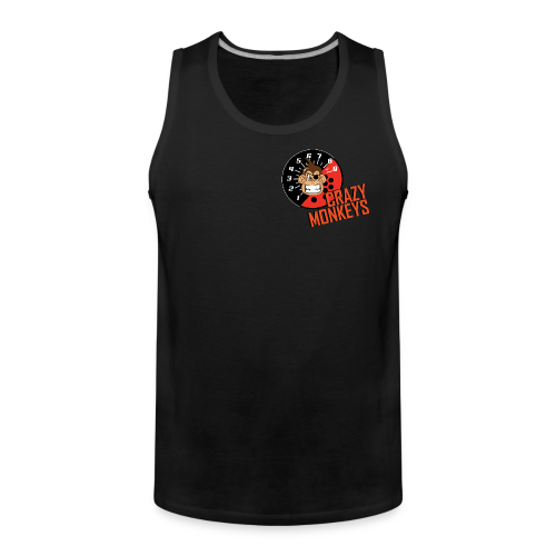 Crazy Monkeys Tank Top #2 - Männer Premium Tank Top