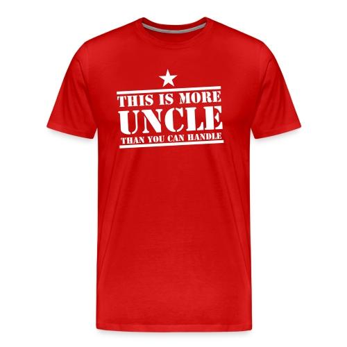 De leukste oom t-shirt - Mannen Premium T-shirt
