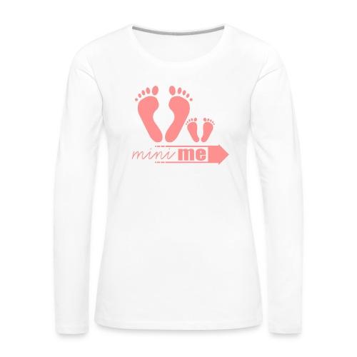 Mini Me t-shirt - Vrouwen Premium shirt met lange mouwen