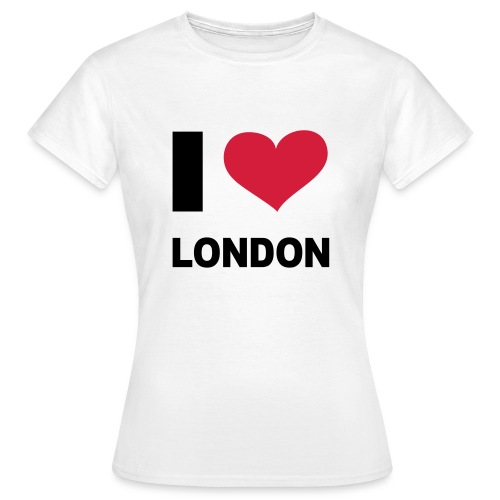 I love London - Vrouwen T-shirt