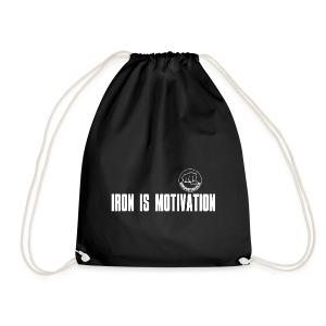 IRON IS MOTIVATION - Turnbeutel