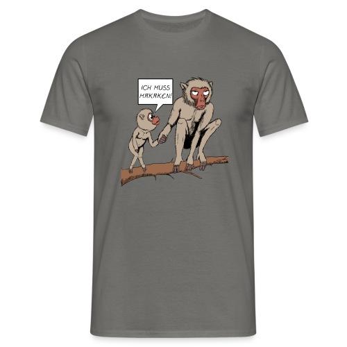 Shirt Herren - Makaken - Männer T-Shirt