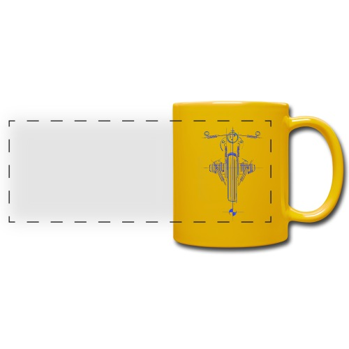 Cafe Racer - Full Color Panoramic Mug