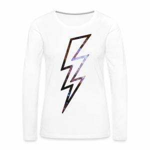 Star Flash - langarm Shirt - Frauen Premium Langarmshirt