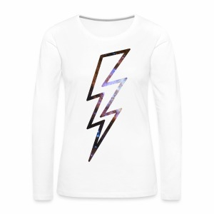 Star Flash - langarm Shirt - Frauen Premium Langarmshirt