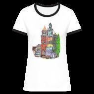 T-Shirts ~ Women's Ringer T-Shirt ~ Castle Lady T-shirt
