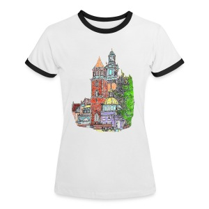 Castle Lady T-shirt - Women's Ringer T-Shirt