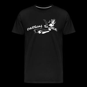 PS - Shirt schwarz/weiß - Männer Premium T-Shirt