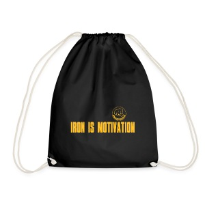 IRON IS MOTIVATION - Turnbeutel