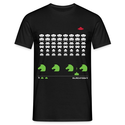 invaders - updated - Men's T-Shirt