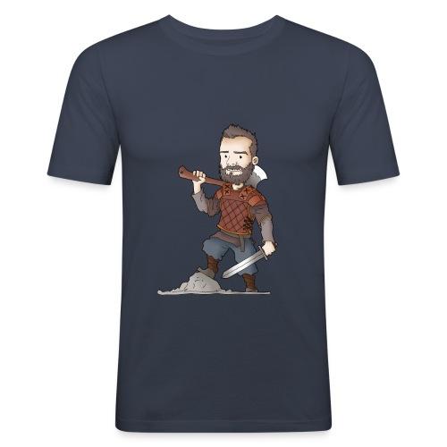 T-shirt homme près du corps Teuz le Brave - T-shirt près du corps Homme
