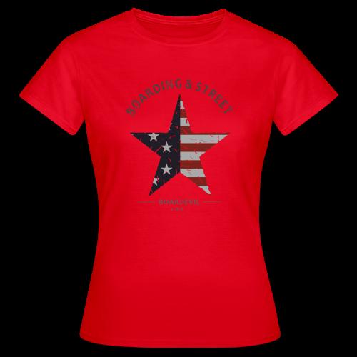 US BOARDING & STREET - Frauen T-Shirt