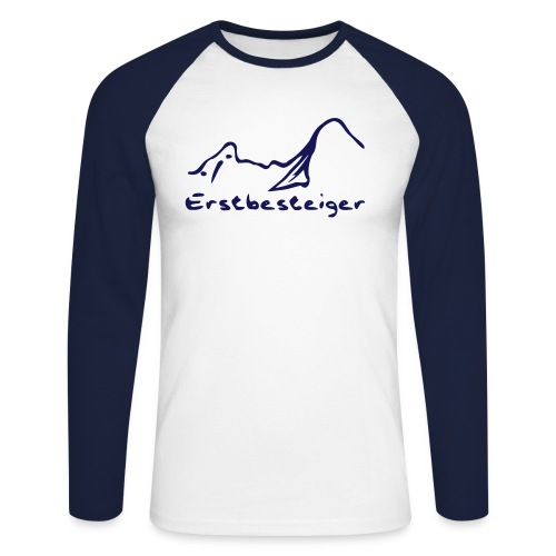 Baseball Shirt Erstbesteiger - Männer Baseballshirt langarm