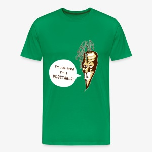carrot-dog (I'm not tired) T-Shirts - Männer Premium T-Shirt