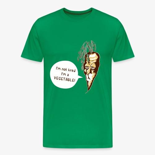 carrot-dog (I'm not tired) T-Shirts - Männer Premium T-Shirt