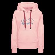 Pullover & Hoodies ~ Frauen Premium Kapuzenpullover ~ Frauen Kapuzenpullover Alpenglühn