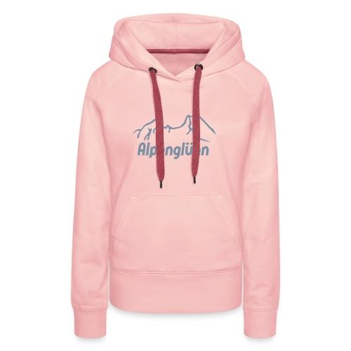 Frauen Kapuzenpullover Alpenglühn - Frauen Premium Hoodie