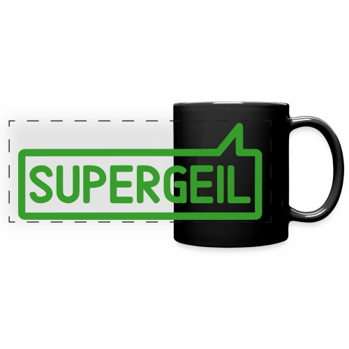 Supergeil Awesome German Colour Mug - Full Color Panoramic Mug