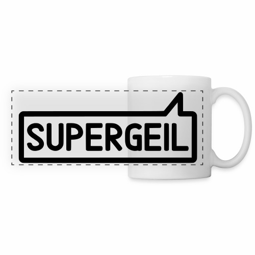 Supergeil Awesome German Mug - Panoramic Mug
