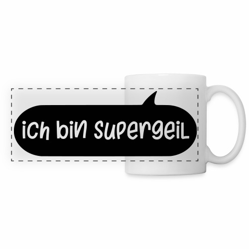 Ich Bin Supergeil German Mug - Panoramic Mug