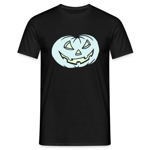 Kürbis - leuchtet im Dunkeln - Halloween - T-Shirt - Männer T-Shirt
