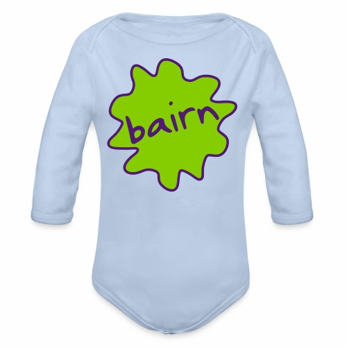Bairn Baby Long Sleeve Bodysuit - Organic Longsleeve Baby Bodysuit