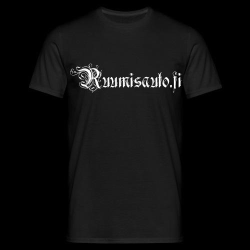 Goottiromanttinen logo, t-paita etupainatuksella - Miesten t-paita