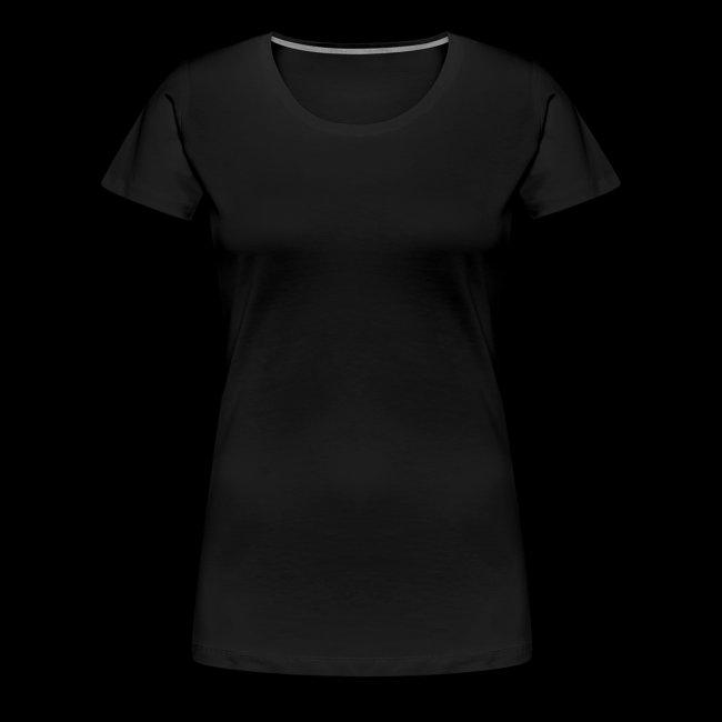 5-vuotispaitamalli, naisten t-paita selkäpainatuksella