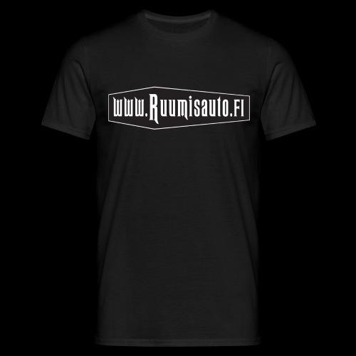Arkkulogo, t-paita etupainatuksella - Miesten t-paita