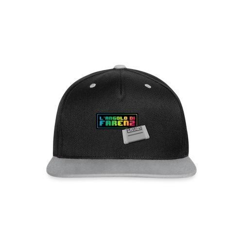 Cappellino snapback in contrasto cromatico