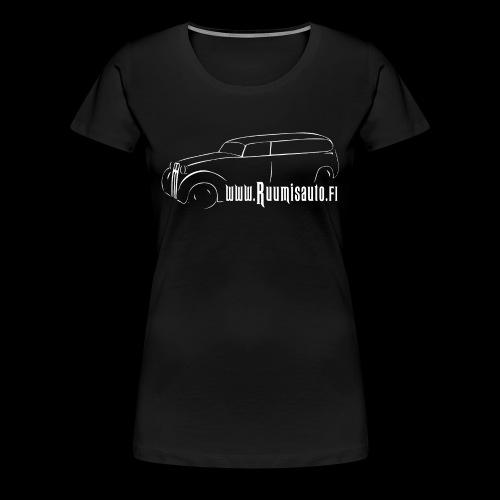 1-vuotispaitamalli naisten t-paitana - Naisten premium t-paita