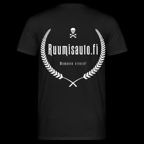 10-vuotismallia mukaileva t-paita selkäpainatuksella - Miesten t-paita