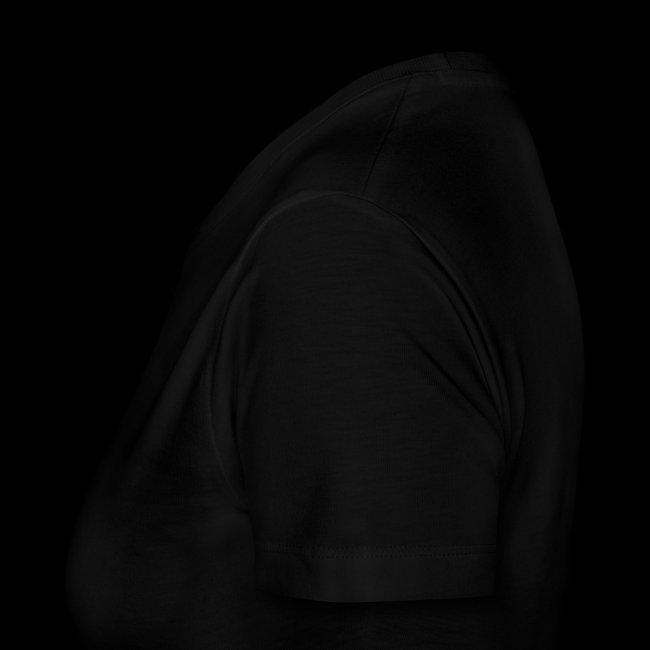 10-vuotismallia mukaileva naisten t-paita selkäpainatuksella