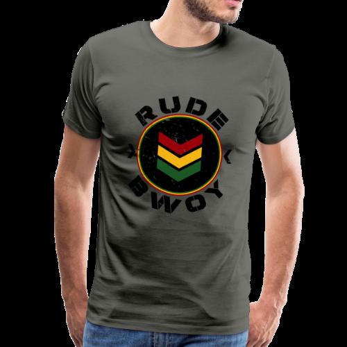 Rude Bwoy  - Männer Premium T-Shirt