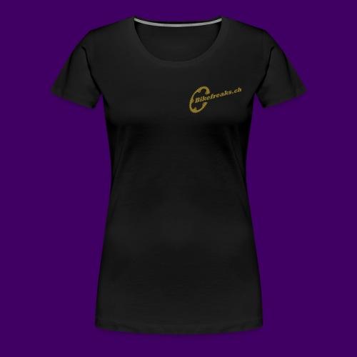 Frauen Premium T-Shirt Gold Serie2 - Frauen Premium T-Shirt