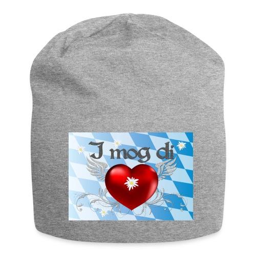 Herz und Flügel  - Jersey-Beanie