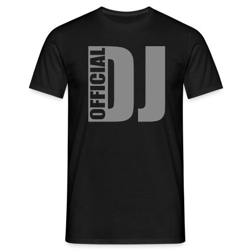 Official Dj Zwart - Mannen T-shirt
