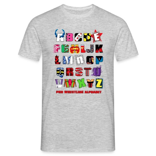 Alphabet (Men) - Men's T-Shirt