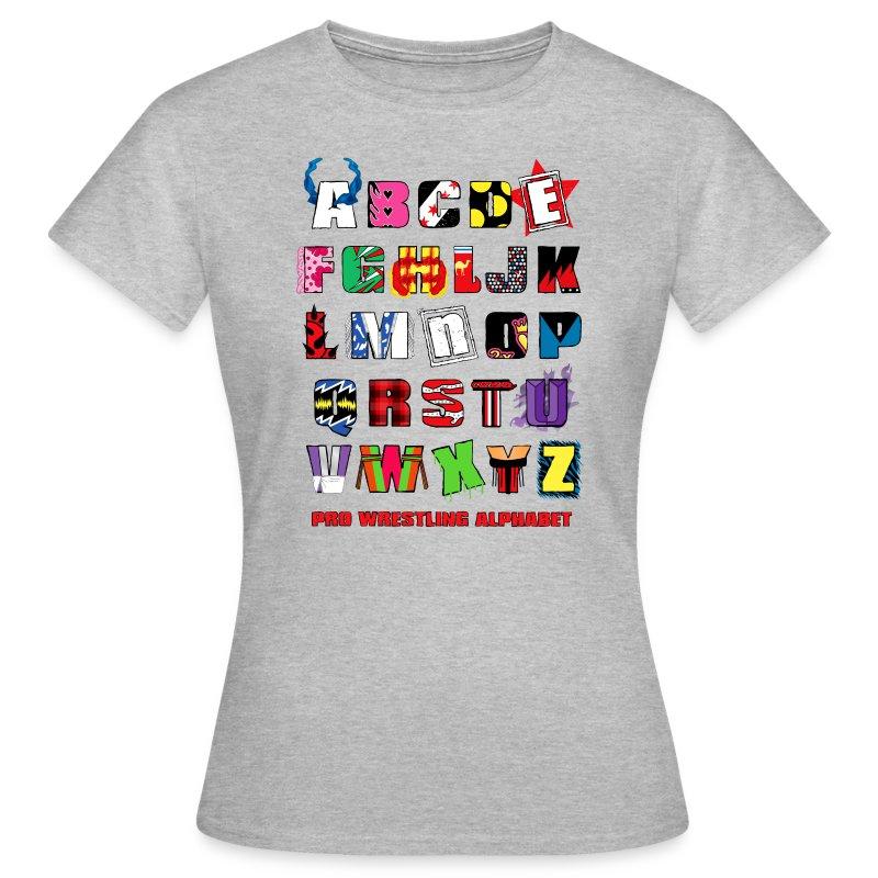 Alphabet (Women) - Women's T-Shirt