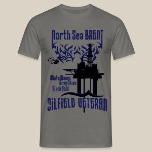North Sea Brent Oil Field Veteran - Men's T-Shirt