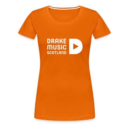 Orange T-shirt Women's fit - Women's Premium T-Shirt