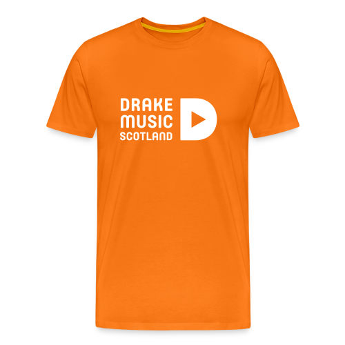 Orange t-shirt Men's fit - Men's Premium T-Shirt