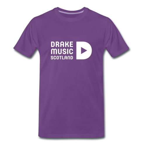 Purple T-shirt - Men's Premium T-Shirt