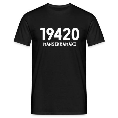 19420 MANSIKKAMÄKI - Miesten t-paita