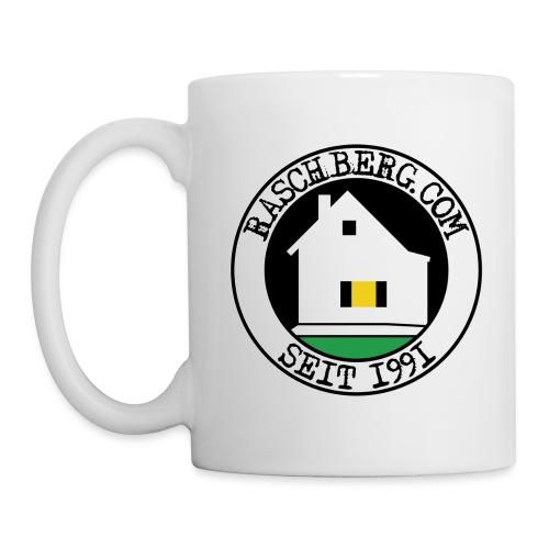 Raschberg.com Logo-Häferl - Tasse