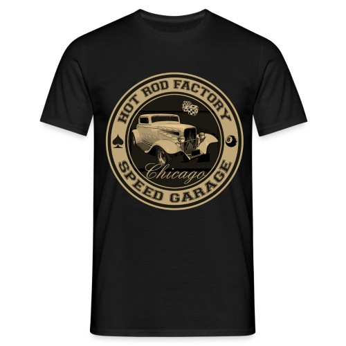 hot rod vintage - Men's T-Shirt